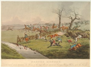 Easter Monday 1817 by Henry Thomas Aitken