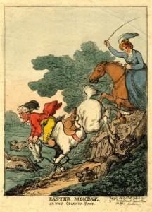 Rowlandsons Cockney Hunt 1811