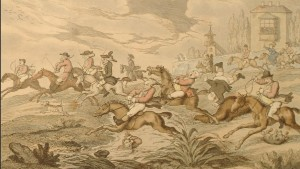 Rowlandsons the city hunt 1810