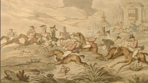 Rowlandsons the city hunt 1810