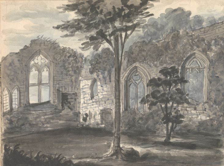 Birkenhead Abbey 1830