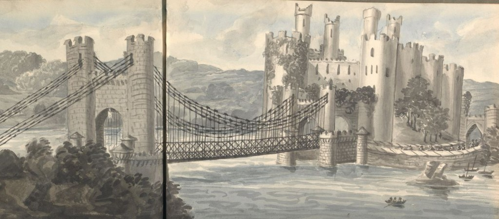 Bridge and Caslt at Conwy