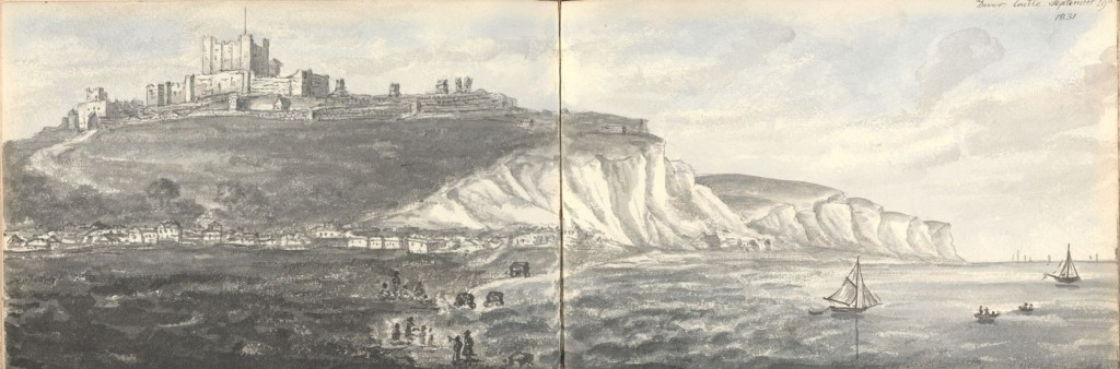 Dover castle 1831