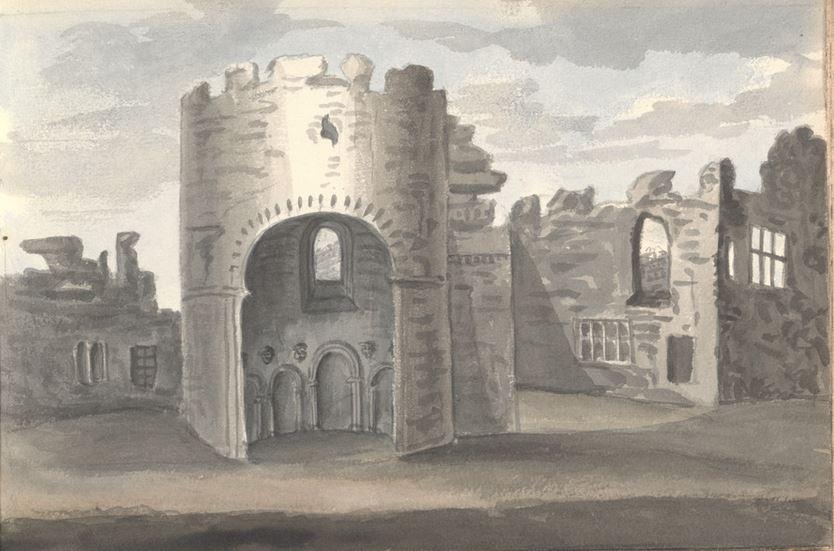 Ludlow Castle 1830