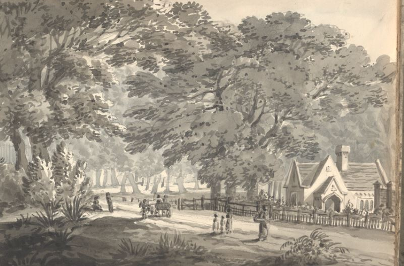 Mr Monk Cottage Wanstead May 1829