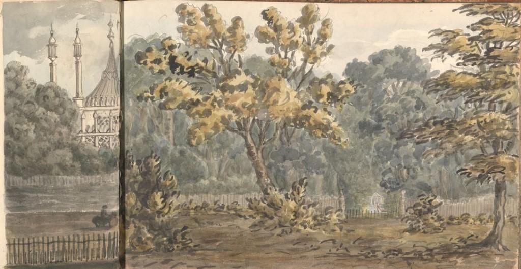 brighton pavilion 1828