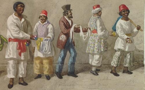 black street traders