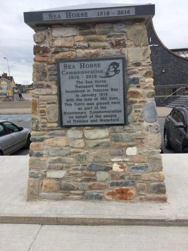 sea horse memorial